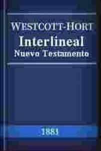 Interlineal Griego Español de Westcott y Hort